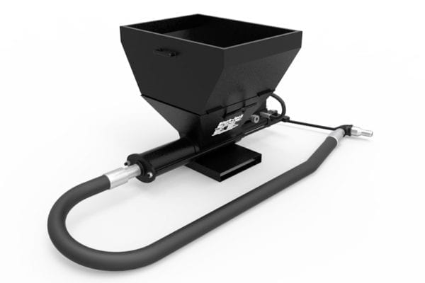 The Black-Jack Single-Cylinder, Full Automatic Reciprocating Pump with Hopper Extension